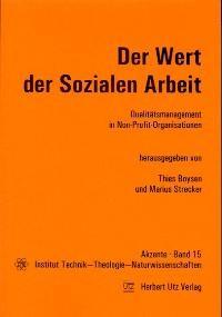 Der Wert der sozialen Arbeit | Boysen / Strecker | 1. Auflage 2002, 2002 | Buch (Cover)