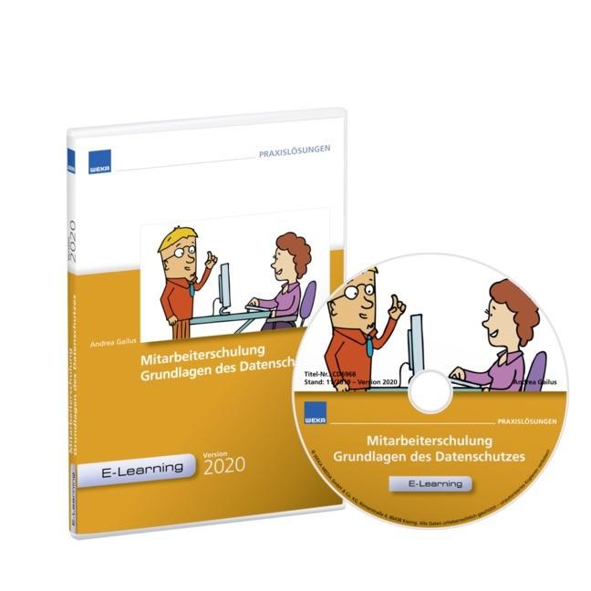 Mitarbeiterschulung Grundlagen d. Datenschutzes - CBT Jahresrechnung   Schmid, 2018 (Cover)