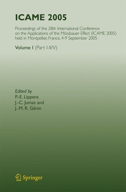 ICAME 2005 | Lippens / Jumas / Génin | 1st Edition. Softcover version of original hardcover edition 2007, 2010 | Buch (Cover)