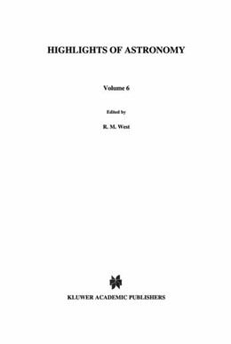 Abbildung von West   Highlights of Astronomy   1983   As Presented at the XVIIIth Ge...   6