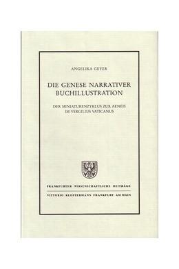Abbildung von Geyer | Die Genese narrativer Buchillustration | 1989