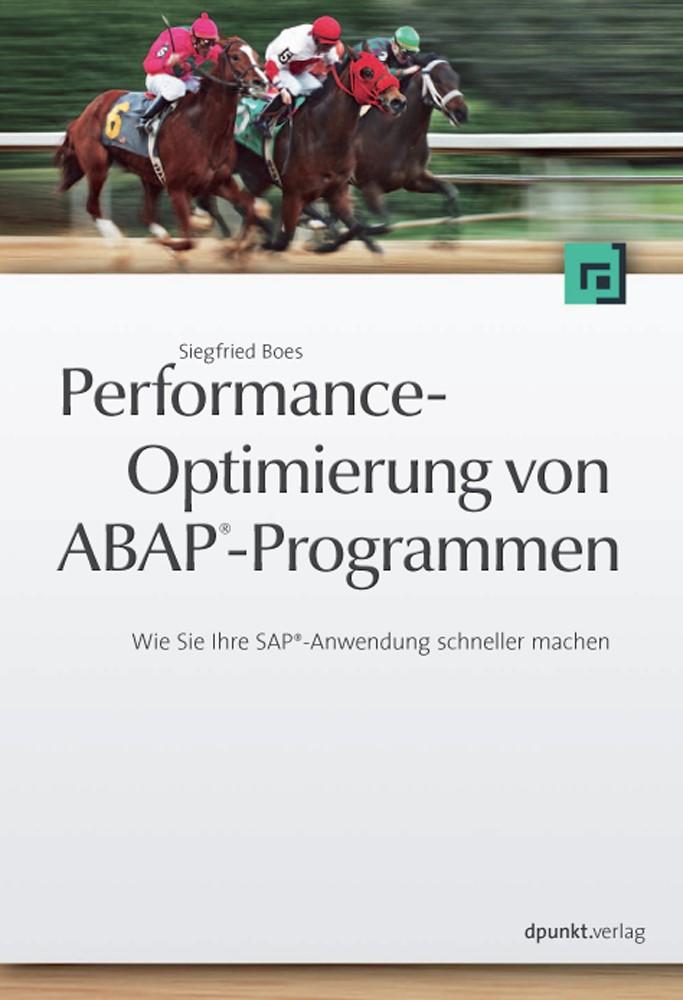 Abbildung von Boes | Performanceoptimierung von ABAP®-Programmen | 2009