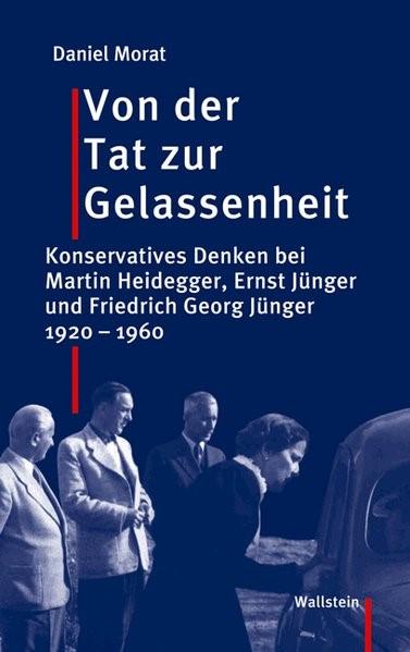 Von der Tat zur Gelassenheit | Morat, 2007 | Buch (Cover)