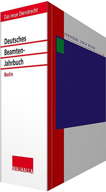 Deutsches Beamten-Jahrbuch Berlin • mit Aktualisierungsservice | Borchert | Loseblattwerk mit Aktualisierung 2019/I, 2012 (Cover)