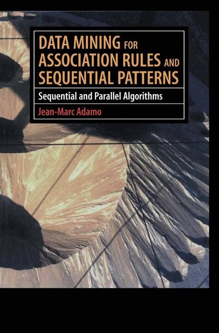 Data Mining for Association Rules and Sequential Patterns | Adamo, 2000 | Buch (Cover)