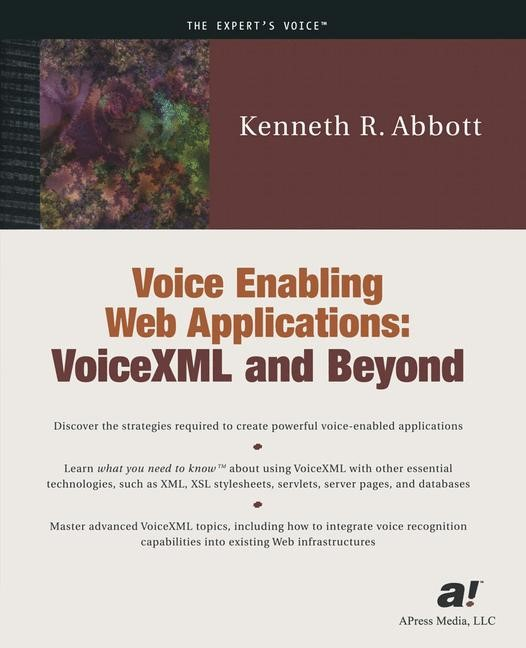 Voice Enabling Web Applications | Abbott | 1st ed., 2001 | Buch (Cover)
