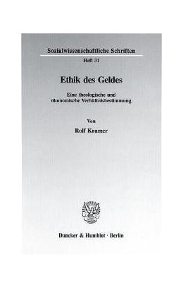 Abbildung von Kramer | Ethik des Geldes. | 1996 | Eine theologische und ökonomis... | 31