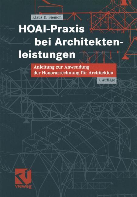 Hoai Praxis Bei Architektenleistungen Siemon 2004 Buch Beck