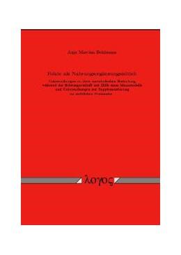 Abbildung von Bohlmann | Folate als Nahrungsergänzungsmittel | 2003 | Untersuchungen zu ihrer metabo...