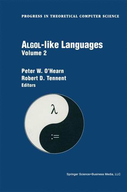 Algol-like Languages | O'Hearn / Tennent, 1996 | Buch (Cover)