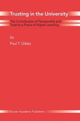 Abbildung von Gibbs | Trusting in the University | 2004 | The Contribution of Temporalit...