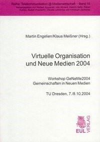 Virtuelle Organisation und Neue Medien 2004 | / Engelien / Meissner, 2004 | Buch (Cover)