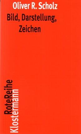 Abbildung von Scholz   Bild, Darstellung, Zeichen   2009   Philosophische Theorien bildli...   1