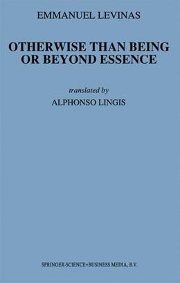 Abbildung von Levinas | Otherwise Than Being or Beyond Essence | 1981 | 3