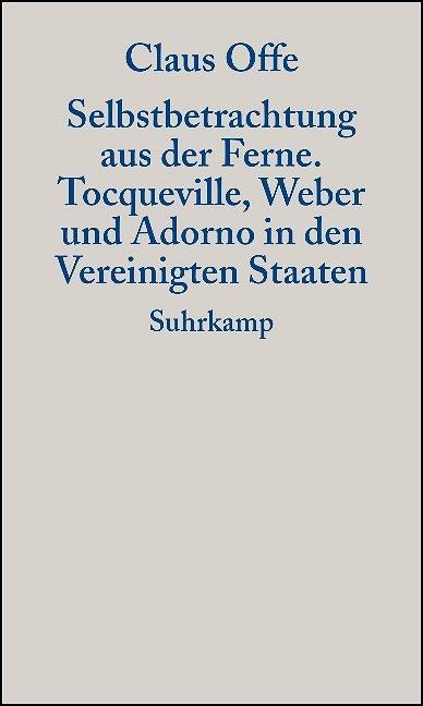 Selbstbetrachtung aus der Ferne | Offe, 2004 | Buch (Cover)