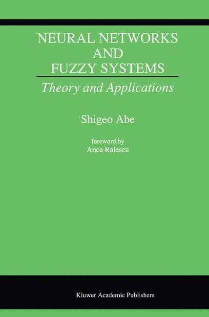 Neural Networks and Fuzzy Systems | Abe, 1996 | Buch (Cover)