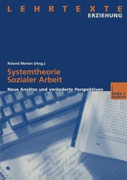 Abbildung von Merten | Systemtheorie Sozialer Arbeit | 2000 | 2000 | Neue Ansätze und veränderte Pe...
