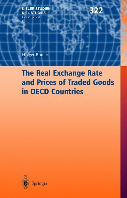 The Real Exchange Rate and Prices of Traded Goods in OECD Countries | Brauer, 2003 | Buch (Cover)