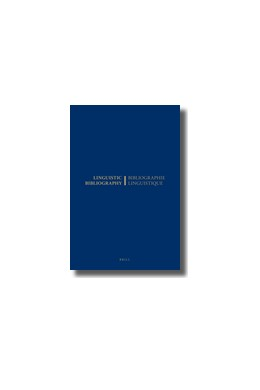 Abbildung von Beylsmit | Linguistic Bibliography for the Year 1976 / Bibliographie Linguistique de l'année 1976 | 1980 | and Supplements for Previous Y... | 1976