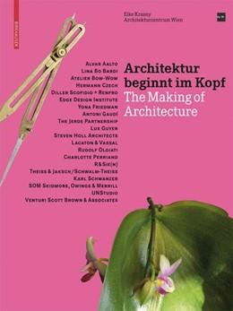 Abbildung von Krasny | Architektur beginnt im Kopf | 2008 | The Making of Architecture