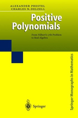 Abbildung von Prestel / Delzell | Positive Polynomials | 2001 | From Hilbert's 17th Problem to...
