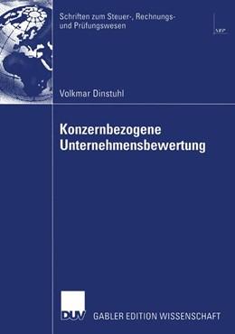 Abbildung von Dinstuhl | Konzernbezogene Unternehmensbewertung | 2003 | DCF-orientierte Konzern- und S...