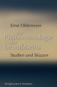 Zur Phänomenologie des Bewußtseins | Oldemeyer, 2005 | Buch (Cover)