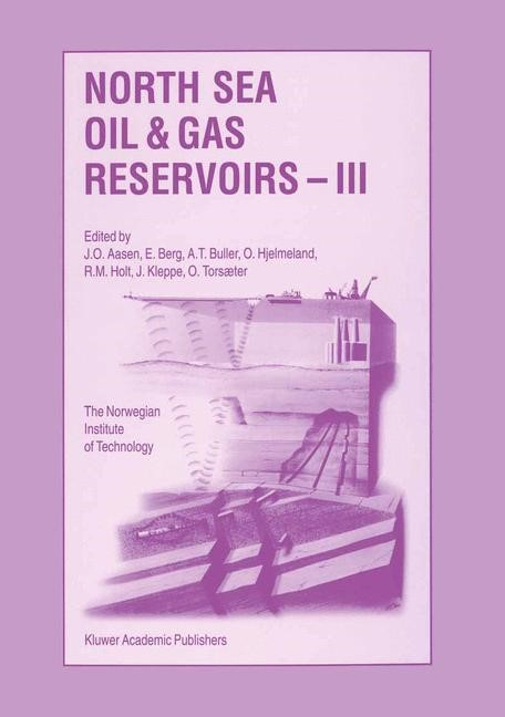 North Sea Oil and Gas Reservoirs — III | Aasen / Berg / Buller / Hjelmeland / Holt / Kleppe / Torsæter, 1994 | Buch (Cover)