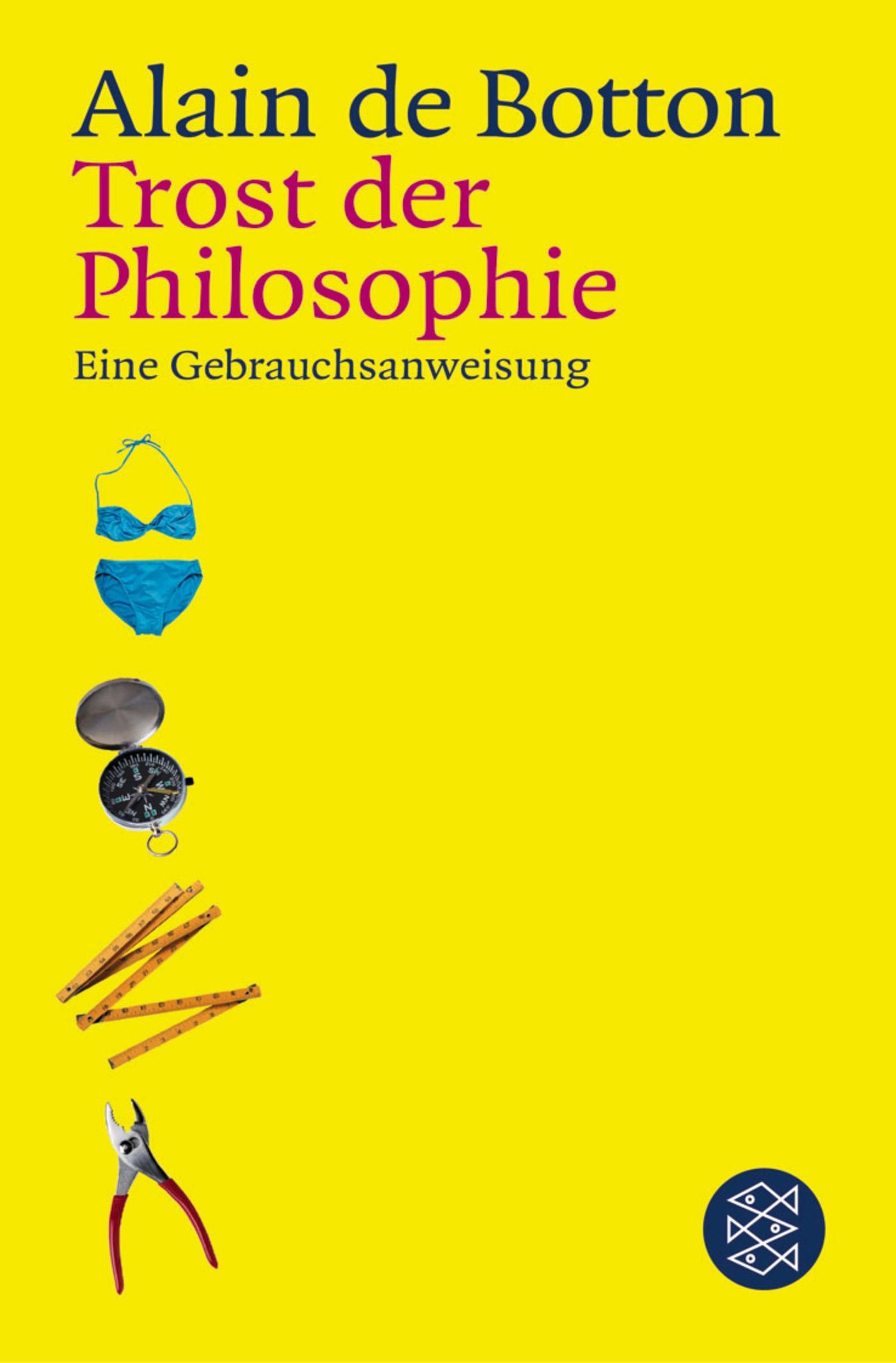 Trost der Philosophie | Botton, 2002 | Buch (Cover)