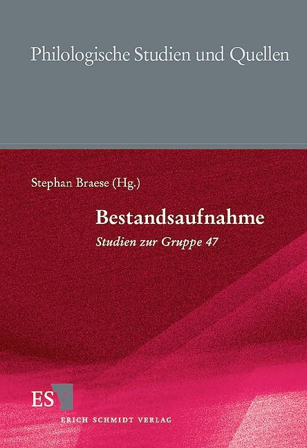 Bestandsaufnahme - Studien zur Gruppe 47 | Braese, 1999 | Buch (Cover)