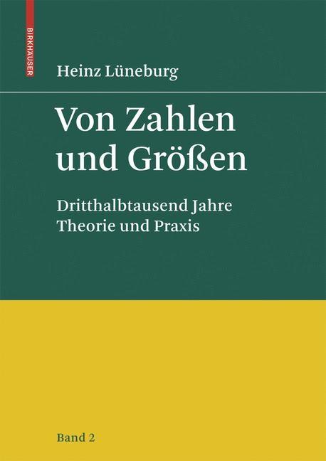Von Zahlen und Größen | Lüneburg, 2008 | Buch (Cover)