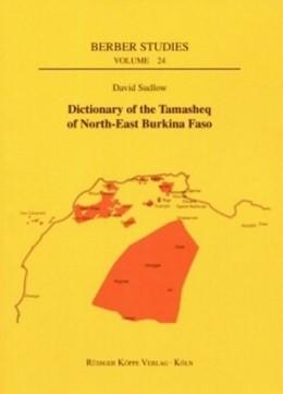 Abbildung von Sudlow | Dictionary of the Tamasheq of North-East Burkina Faso | 2009 | 24