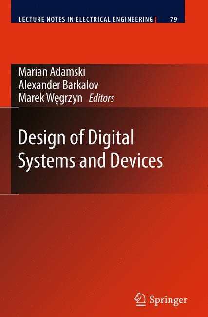 Abbildung von Adamski / Barkalov / Wegrzyn | Design of Digital Systems and Devices | 2011