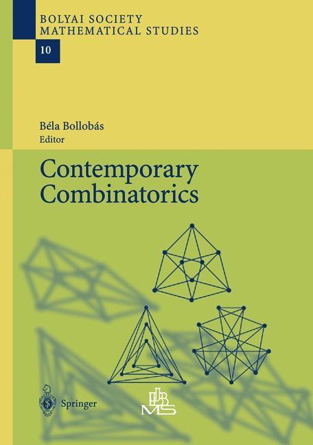 Contemporary Combinatorics | Bollobas | 1st Edition. Softcover version of original hardcover edition 2002, 2010 | Buch (Cover)