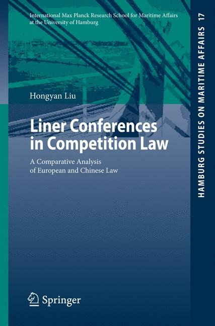 Liner Conferences in Competition Law | Liu, 2009 | Buch (Cover)