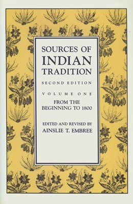 Abbildung von Embree / Hay | Sources of Indian Tradition | second edition | 1988 | Modern India and Pakistan
