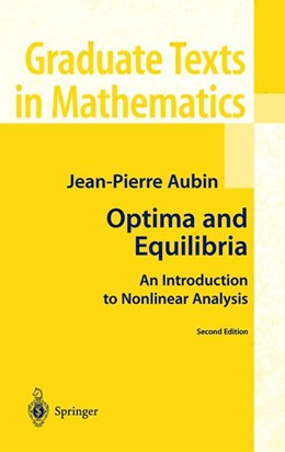 Abbildung von Aubin | Optima and Equilibria | 2nd ed. 1998. Corr. 2nd printing | 2002 | An Introduction to Nonlinear A... | 140