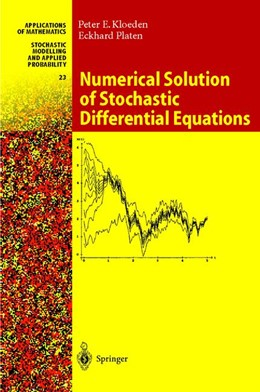 Abbildung von Kloeden / Platen | Numerical Solution of Stochastic Differential Equations | 1st Corrected ed. 1992, Corr. 4th printing 2011 | 2011 | 23