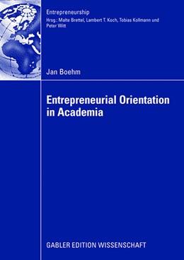 Abbildung von Boehm | Entrepreneurial Orientation in Academia | 2008