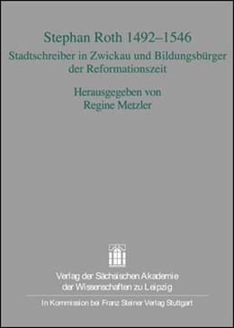 Abbildung von Metzler | Stephan Roth 1492-1546 | 1. Auflage | 2008 | 32 | beck-shop.de