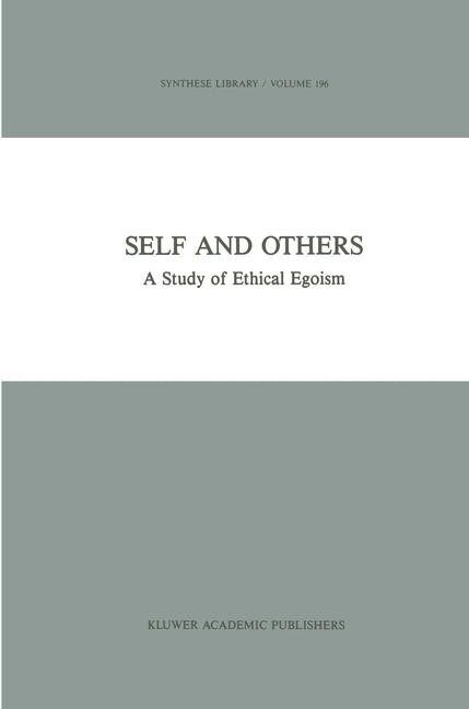 Self and Others | Österberg, 1988 | Buch (Cover)