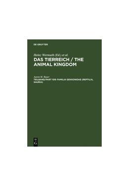 Abbildung von Bauer | Familia Gekkonidae (Reptilia, Sauria). Part I: Australia and Oceania | Reprint 2011 | 1994 | Part I: Australia and Oceania