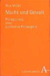 Macht und Gewalt | Müller / Bösl, 1999 | Buch (Cover)