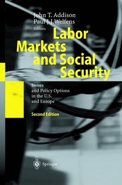 Labor Markets and Social Security | Addison / Welfens | 2nd ed., 2003 | Buch (Cover)