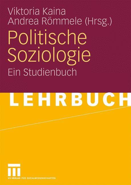 Politische Soziologie   Kaina / Römmele, 2008   Buch (Cover)