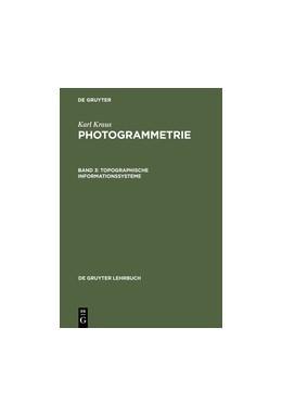 Abbildung von Kraus | Topographische Informationssysteme | Reprint 2012 | 2000