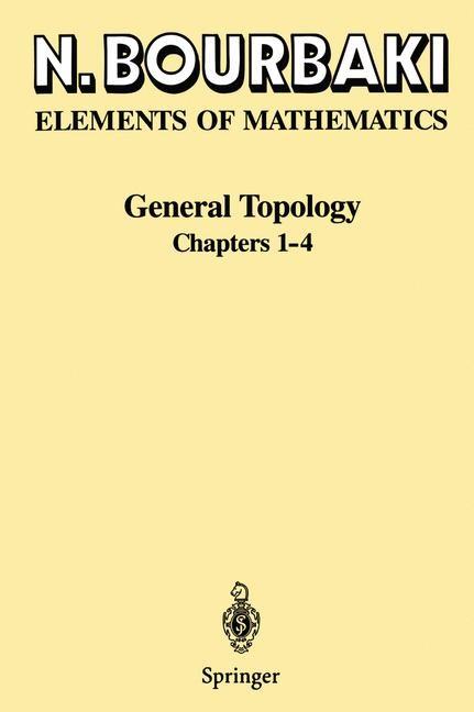 General Topology | Bourbaki | 1995, 1998 | Buch (Cover)