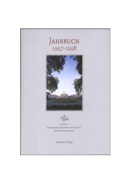 Abbildung von 1997/1998   2001   Herausgegeben im Auftrag des S...