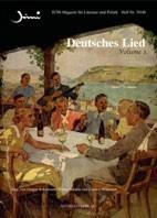 Deutsches Lied Vol. I und II   Ackermann / Delabar / Würmann, 2007   Buch (Cover)