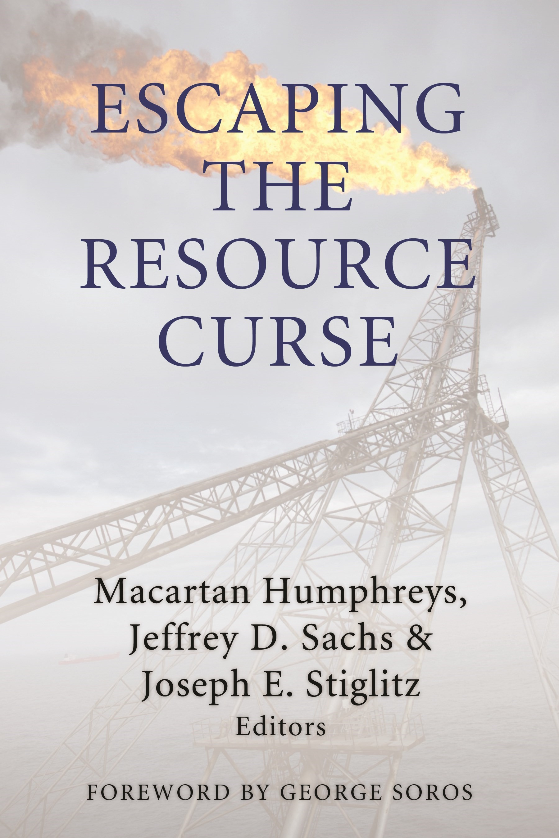Abbildung von Humphreys / Sachs / Stiglitz | Escaping the Resource Curse | 2007